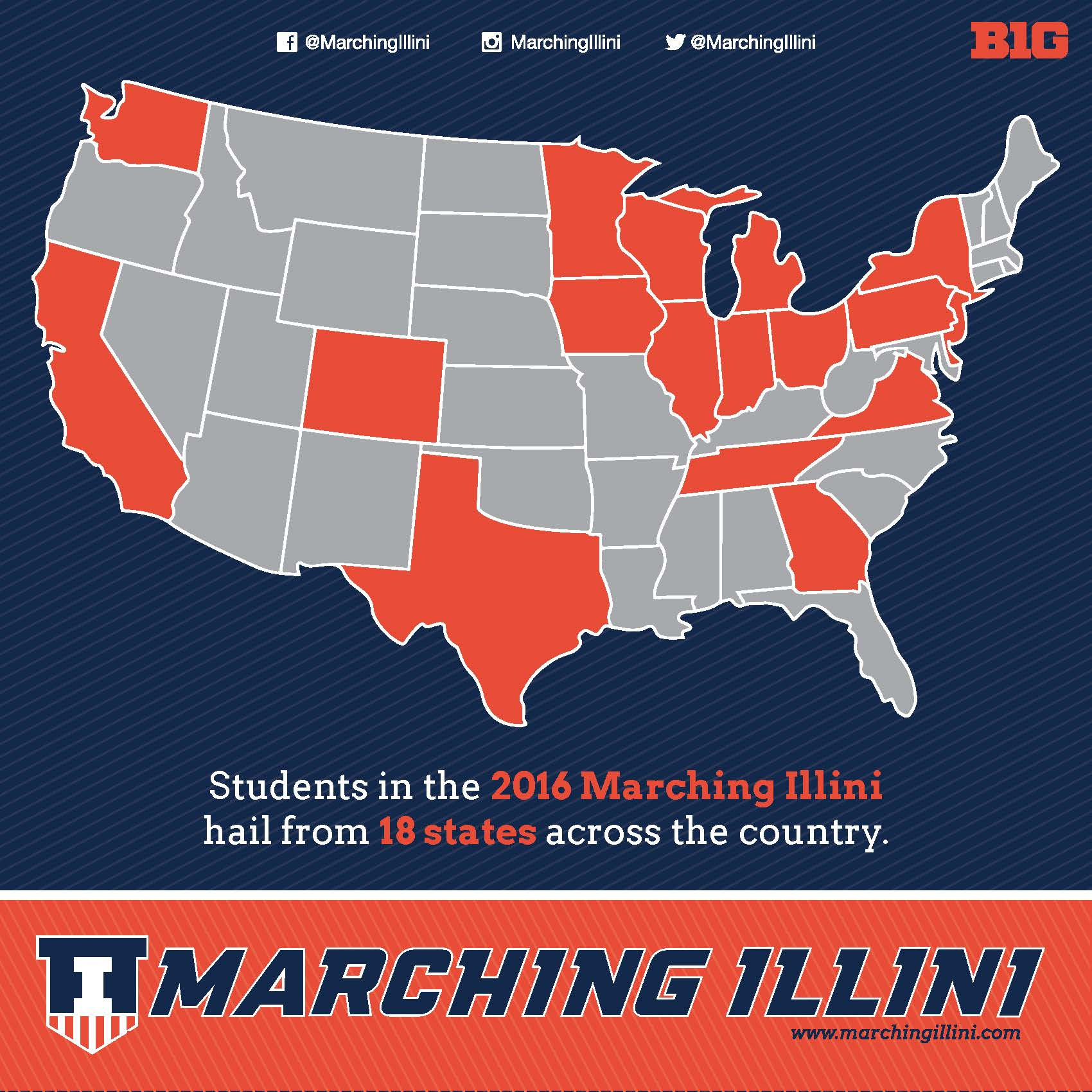 Marching Illini Across America