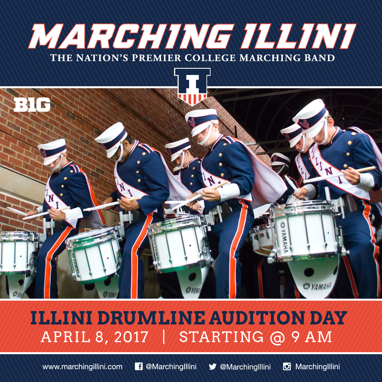 Drumline 2017 Audition Results Here