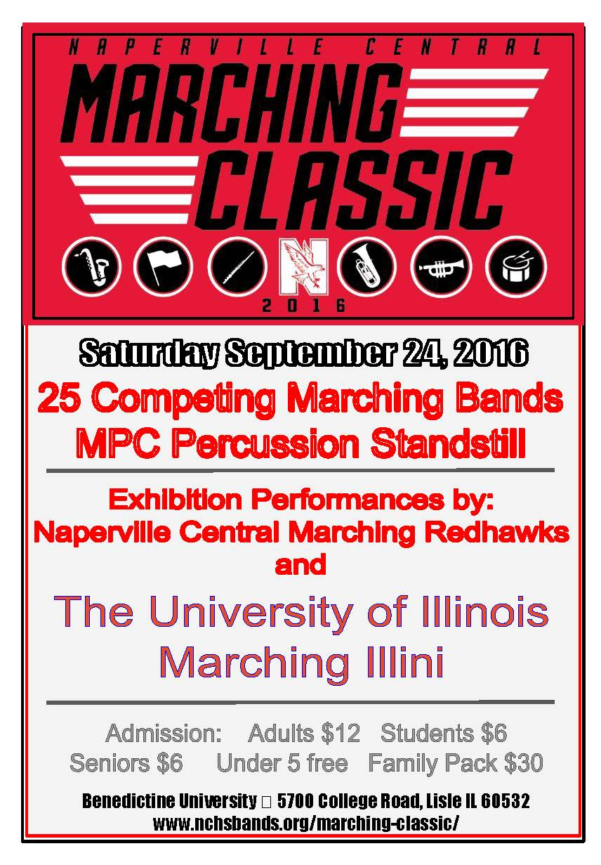 Marching Illini will travel to Naperville